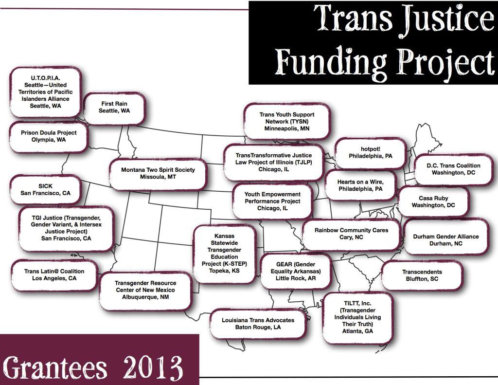 TJFP Grantee Map 2013