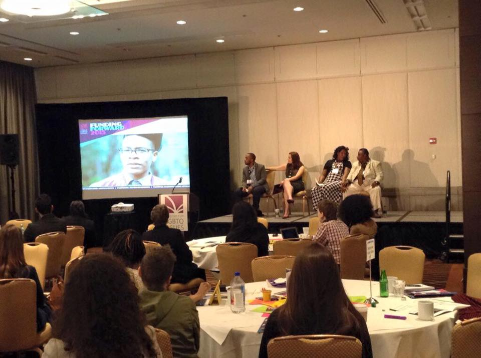 Funding Forward 2015 Critical Voices panel