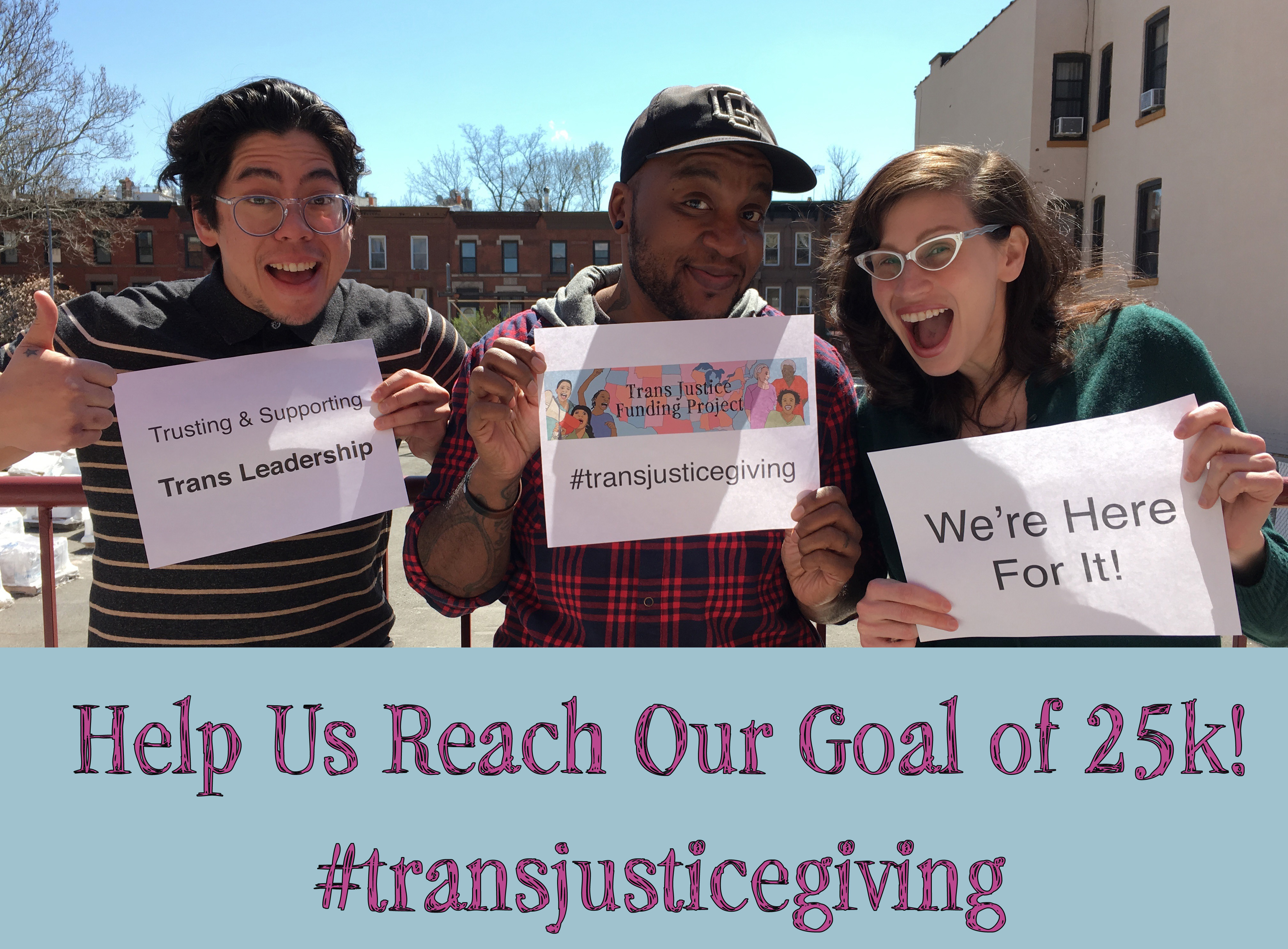 Donate now to TJFP's 2016 Annual Fundraiser