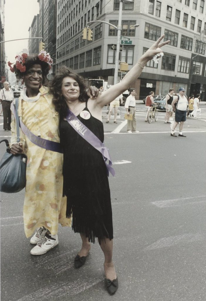 Image: Sylvia Rivera and Marsha P. Johnson